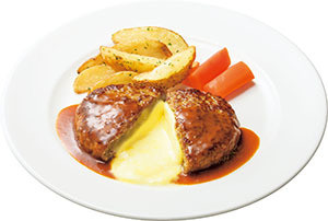 Caféレストラン ガスト チーズINハンバーグ
