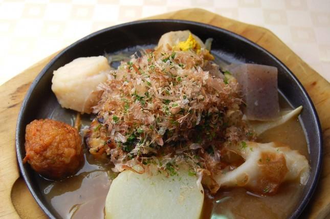 【業界ニュース】静岡方面で「おでんバーグ」が食べられる!