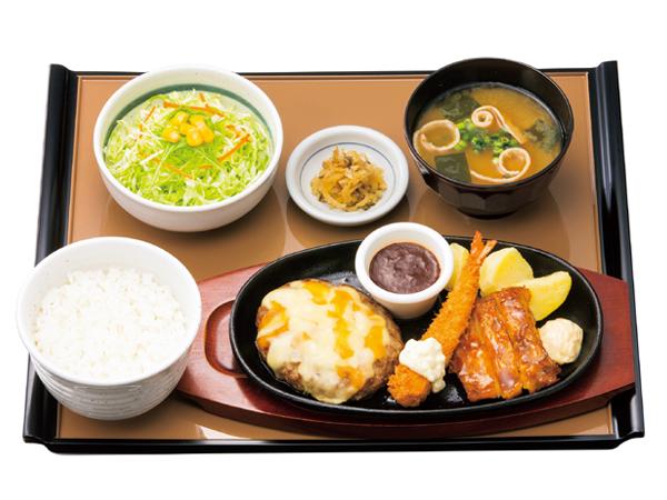 【新・ハンバーグ定食販売開始】全国のやよい軒にて!