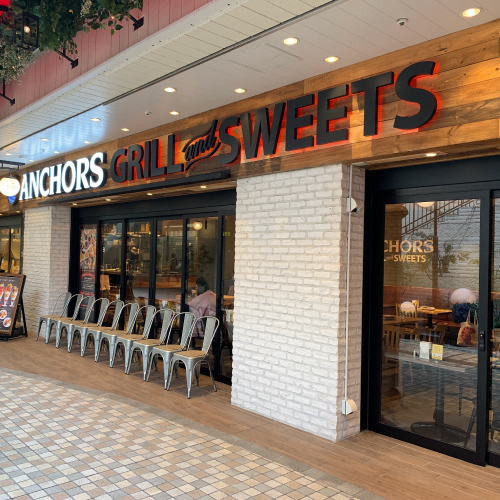 ANCHORS GRILL and SWEETS IWGB 池袋 ハンバーグ