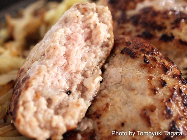 ずんのやすさんイチオシ「まるみ豚ハンバーグ」
