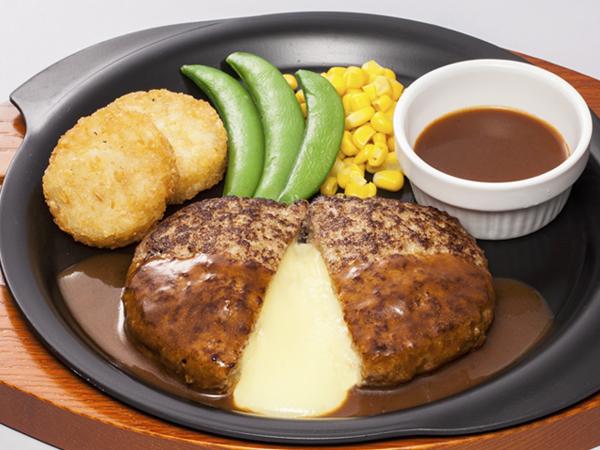 チーズ IN ハンバーグ