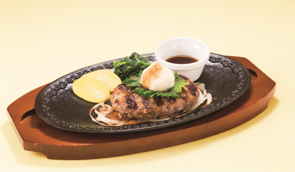 ビーフハンバーグ〜おろしソース