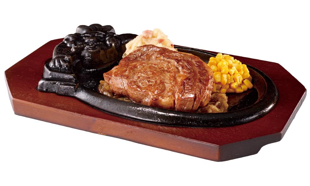 ブロンコビリー 炭焼き 極選リブロースステーキセット