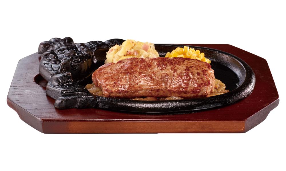 ブロンコビリー 炭焼き ローストサーロインステーキセット