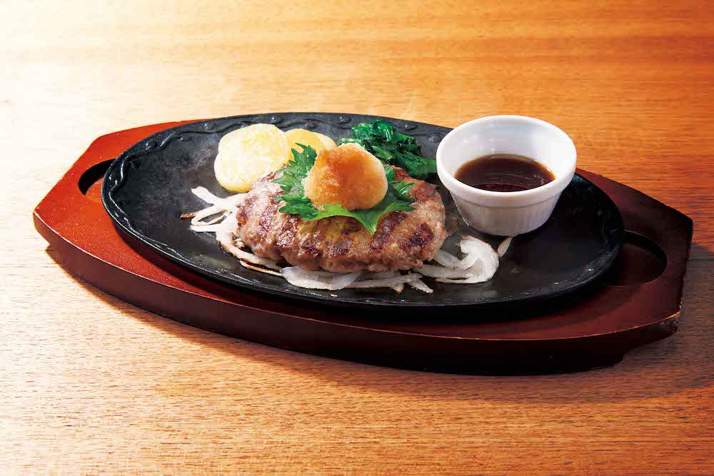 デニーズ All Beefハンバーグ~おろしソース