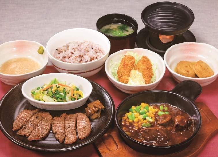 仙台名物牛たん&広島産牡蠣フェア