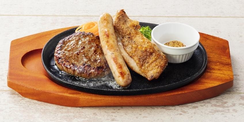 ステーキのどん 日替わりランチ ハンバーグ