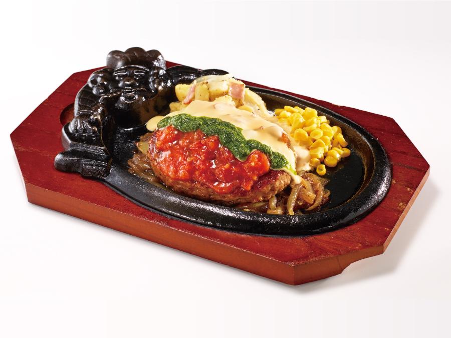 ブロンコビリー トマトとチーズとバジルのソース