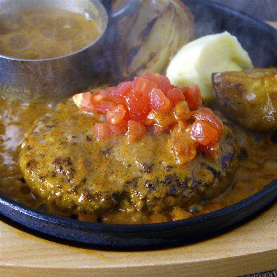 GOOD EAT TABLE トマトバターカレーハンバーグ