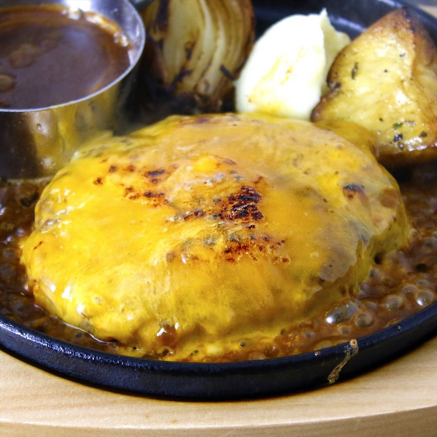 GOOD EAT TABLE チーズハンバーグ