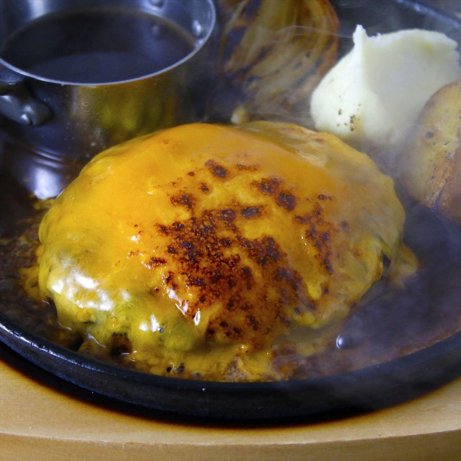 GOOD EAT TABLE 神戸牛チーズハンバーグ