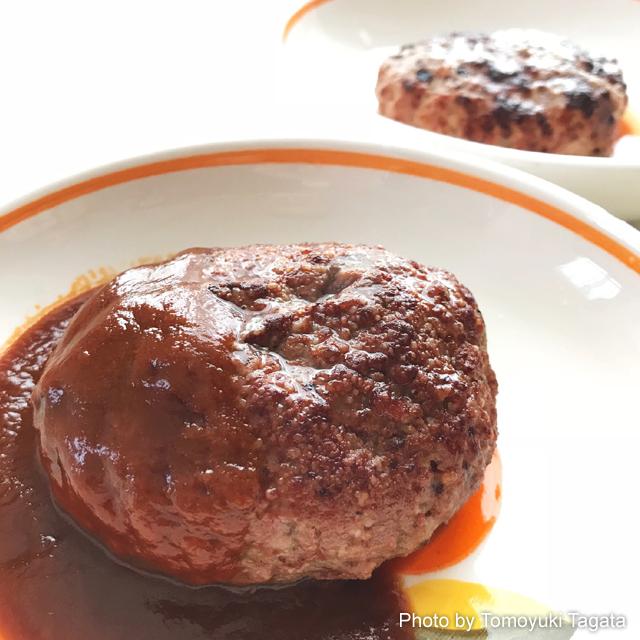 伊勢丹 黒毛和牛の旨み感じるハンバーグステーキ 仕上がり