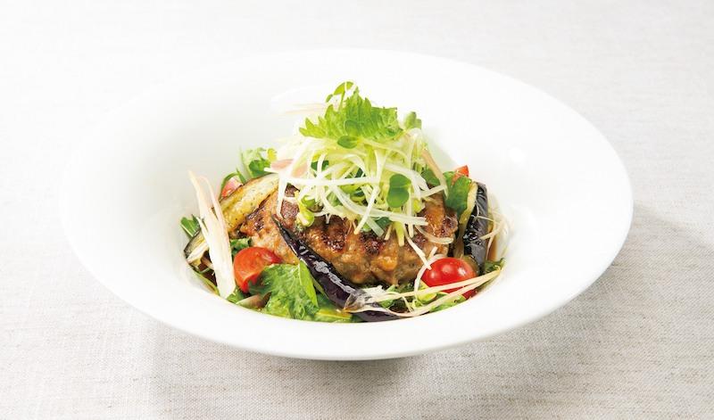 デニーズ 香味野菜の生姜醤油 ハンバーグ