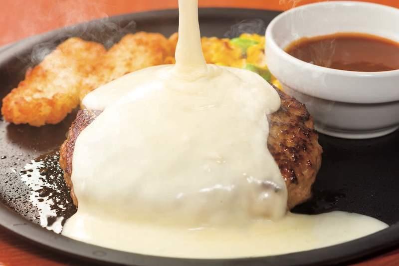 ガスト チーズオンチーズインハンバーグ