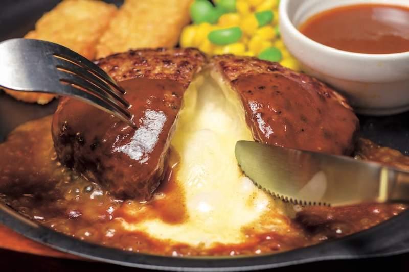 ガスト チーズインハンバーグ