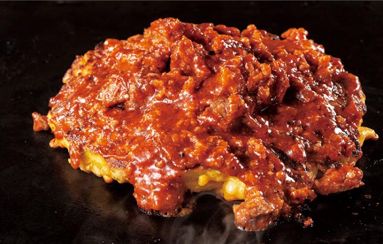 道とん堀 ハンバーグクラッシャーお好み焼き こだわりの粉もん肉料理