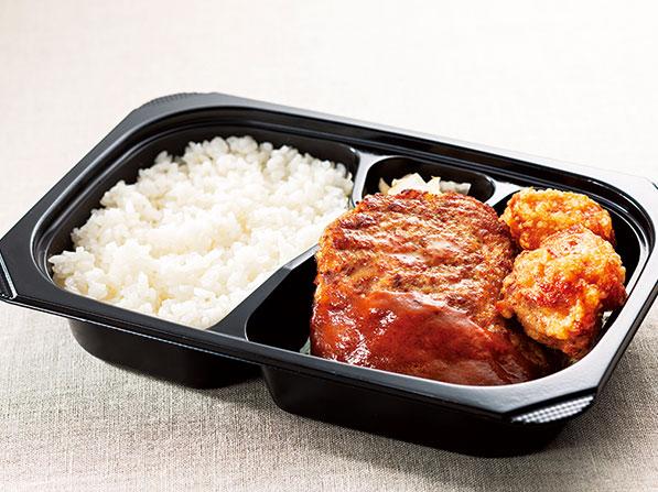 ガスト テイクアウト ハンバーグ&若鶏の唐揚げ弁当