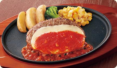 ジョイフル テイクアウト チーズハンバーグ弁当