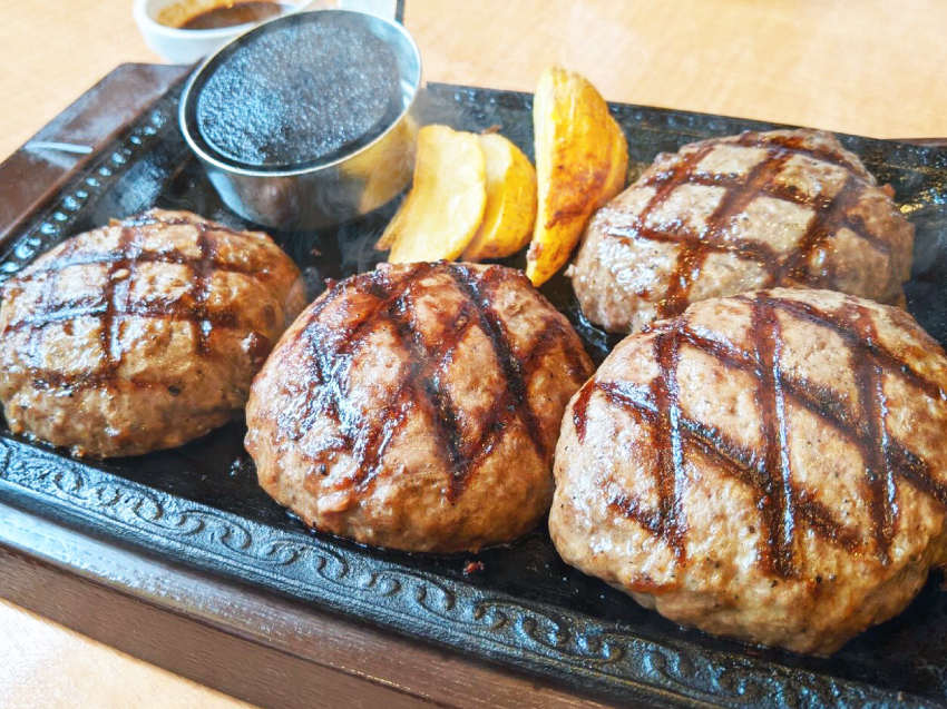 ステーキガスト 牛っとこぶしハンバーグ