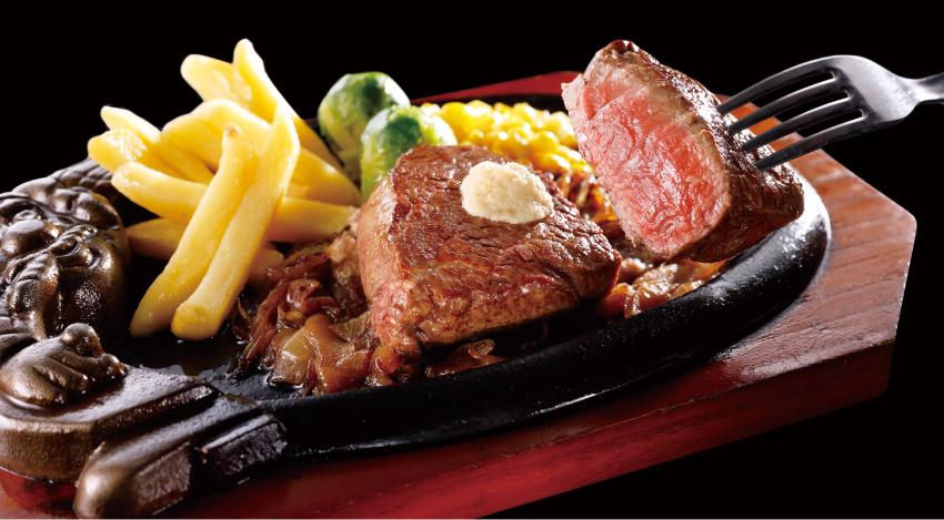 ブロンコビリー 国産炭焼きやわらかヒレステーキ 夏のご馳走ステーキ祭